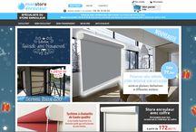 Mon-store-enrouleur / Notre nouveau site spécialisé dans les stores enrouleurs ! Retrouvez toute l'actualité du site