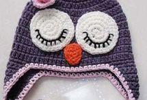 Crochet gorros niños