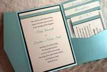 cards---Wedding invitations / by Donna VanGeest