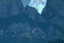 Vakre fjell og natur