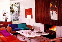 Retro / Mid century and other retro chic homes & decor