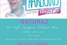 Kim Coles Hairlicious Hair Event / April 11, 2015 Philadelphia one of a kind,  fun and fab event that's all about natural hair, self-love, self-acceptance, living holistically and having plain fun hosted by @KimColes