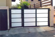 Glass gates and Garage Doors