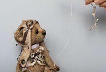 Stuffed an cloth animals