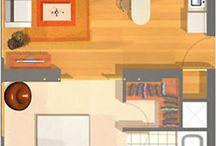 Studentské bydlení - studio