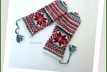 winter stuff;gloves, socks and etc.