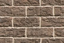 Chesapeake Grey   Triangle Brick Company / Evoking colors from the ashy embers of a dying fire, our Chesapeake Grey brick features beautiful shades of smoky gray, brown and dark charcoal. This richly-textured and tumbled brick is classified under our Select product tier, providing customers with the highest-quality brick possible. Add an elegant, understated touch to your building project with exterior cladding that's truly superior to the competition, choose Chesapeake Grey from Triangle Brick Company.