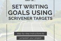 Using Scrivener