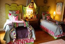 girly bedroom ideas / by Amy Henning