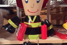 fire fighter crafts