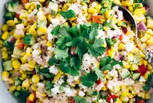 Food and drink / Mexican corn salad