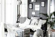 Rustikk interiør
