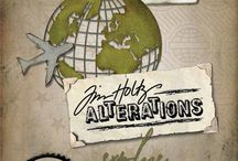 CHA 2015 Sneak Peeks Tim Holtz/Sizzix/Stampers Anonymous/Ranger