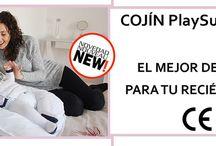 PlaySu Confort / Cojín de descanso para recién nacidos Puf bebés Bufandas bebés y niños. Canastillas recién nacidos