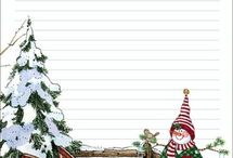 Скрап Новый Год / Фоны и идеи скрапбукинг Новый Год