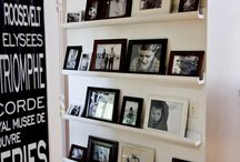 Photo wall displays / by Cathy Calamas
