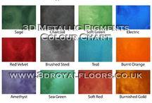 Colour Chart Resin | Designers