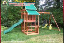 MC-Playgrounds Playsets Assemblies / Kids outdoor play