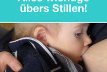 Stillen ★ Breastfeeding / Hier ist alles rund ums Stillen zu finden.