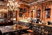Food and drink bucket list / Places to eat, drink and get good coffee.