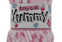 Yummy / All our Knitting patterns for for Yummy. Amazingly soft and scrummy, perfect for those baby comfort garments and accessories. Available in 10 yummy shades.