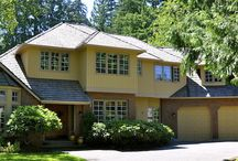 Exterior colors - 1980's homes with wood siding / Photos of homes painted by ELEGANT PAINTING - Kirkland, WA