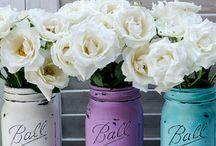 Mason jar DIY  / by Joyce Jordan