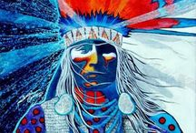 Native American art and Photography