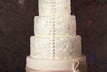 Bröllopstårta / Tårta