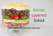 Summery Salads / Some beautiful salad recipes for those warm summer days! https://www.stayathomemum.com.au/recipes/salads/