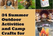 Outdoor activities and crafts