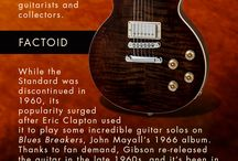 #Gibson120 Infographics / by Musician's Friend