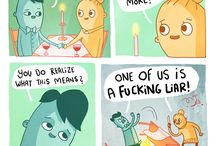 Funny Comic, Strips and Drawings
