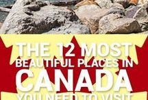 Canada 150 / This board is dedicated to all the #Canada150 destinations and some interesting facts about Canada!