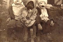 Creepy old halloween costumes.