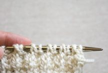 Knitting tips