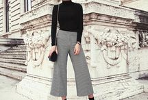 Culottes and cropped pants