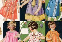 Children's clothes between the wars