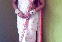 Binal shah saree