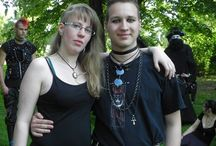 +Goths Of The '80s, + / goth germany 90,s