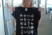 Examples of our T-Shirts / Real examples of our custom t-shirts and other apparel made right here in Atlanta GA.