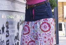jeansstücke