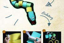 DIY Bastelideen mit Klopapierrollen