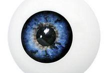 ojos / ojos artificiales para halloween