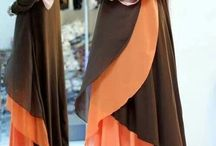 hijab with gown