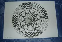 My tangles / doodles / my interpretation