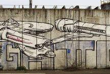 Graffiti 2015 by Gattonero / Pinboard dei pezzi del 2015 #streetart #writing #milano #gattonero