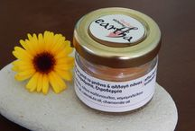 Eartha / herbal alchemy / soap, cream, vegetable oils, body scrub, herbs, lip balm