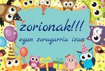 Zorionak