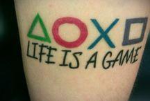 gaming tattoo ideas